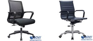 Top 5 mẫu ghế xoay văn phòng chống đau mỏi lưng, hạn chế đau vai gáy hiệu quả