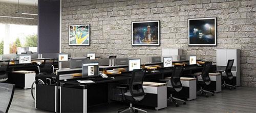 Xu hướng thiết kế nội thất văn phòng tối giản, hiện đại