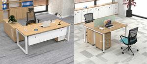 Combo bàn Eos – kiến tạo không gian văn phòng hiện đại, chuyên nghiệp
