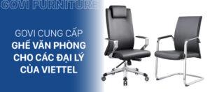 Govi cung cấp nội thất văn phòng cho tập đoàn Viettel