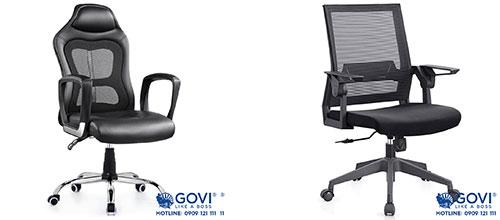 Tính năng nổi bật của các mẫu ghế xoay văn phòng