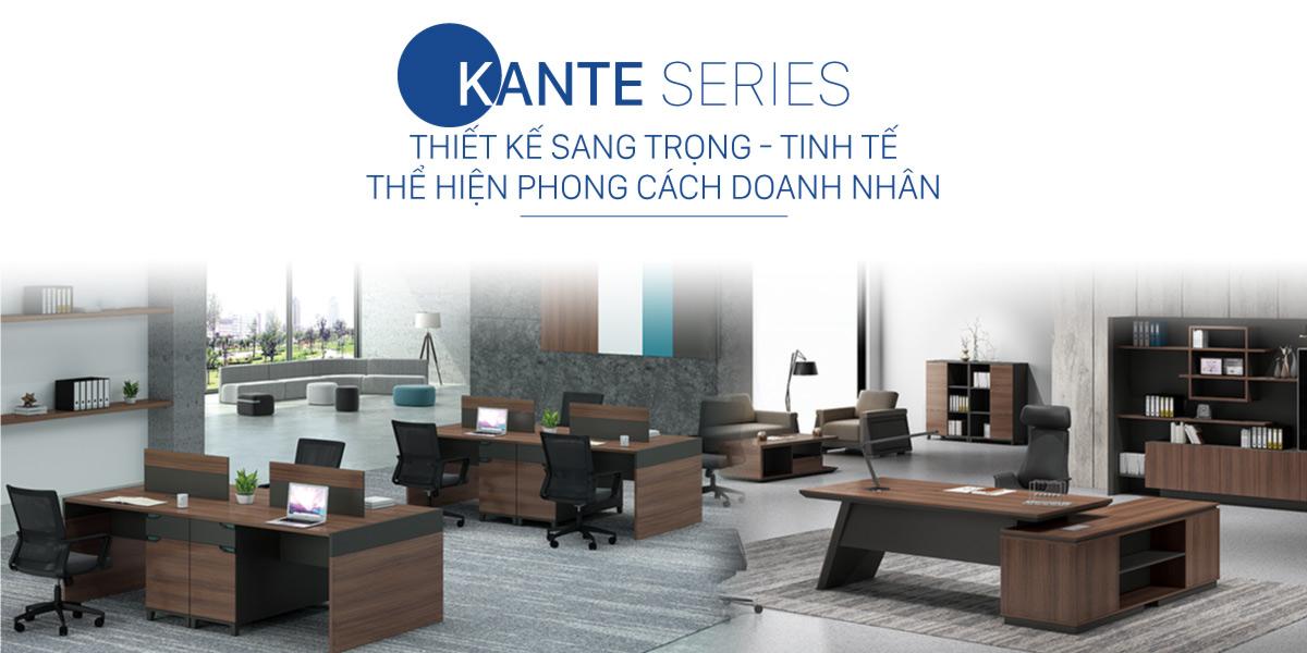 Hệ bàn Kante Govi – Thương hiệu nội thất Govi