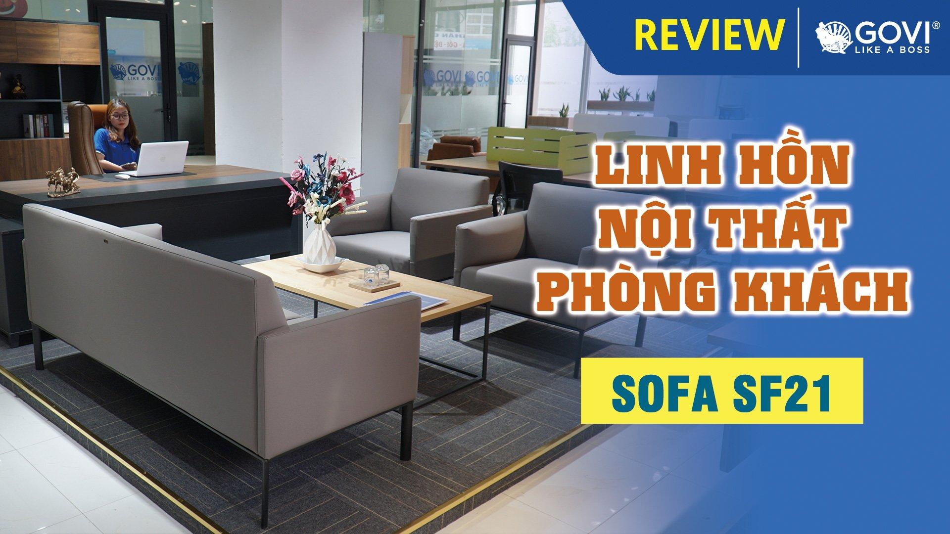 Sofa Da Cao Cấp SF21 – Linh Hồn Nội Thất Phòng Khách