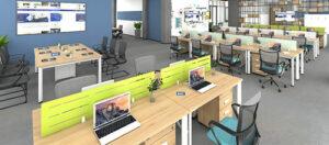 Dự án lắp đặt bàn Oval thực hiện bởi Govi Furniture