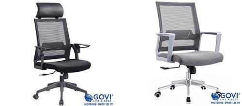 Ghế xoay văn phòng lưng lưới: mát mẻ, sảng khoái, tràn đầy năng lượng làm việc