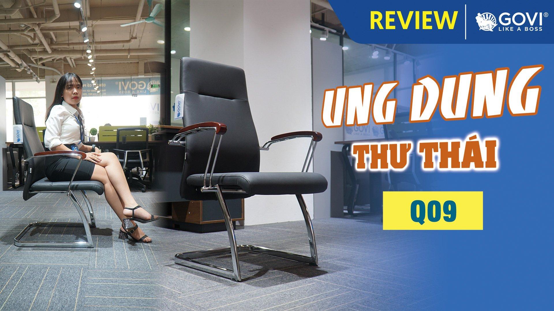 Ghế Chân Quỳ Da Q09 – Ung Dung Thư Thái