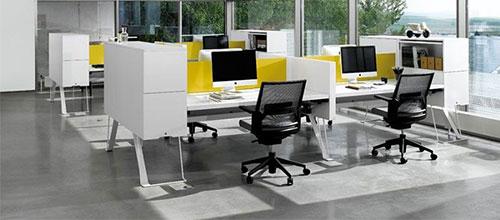 Thiết kế nội thất văn phòng hiện đại, trẻ trung, tạo ấn tượng mạnh với khách hàng