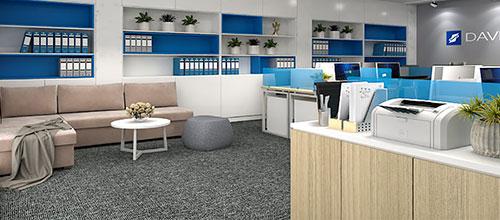 Màu sắc nào sẽ lên ngôi đón đầu xu hướng thiết kế nội thất văn phòng 2021?