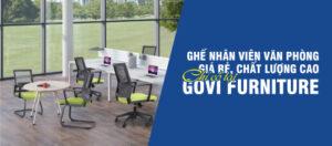 Ghế nhân viên văn phòng giá rẻ, chất lượng cao – chỉ có tại Govi Furniture