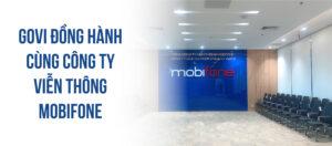 Govi cung cấp nội thất văn phòng tổng công ty viễn thông Mobifone