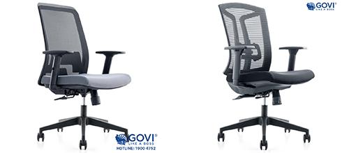 Ý tưởng thiết kế văn phòng độc đáo với ghế lưng lưới của Govi