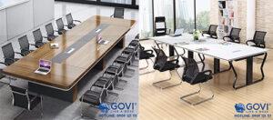 Bàn họp cao cấp: khẳng định tầm vóc doanh nghiệp, kiến tạo sự chuyên nghiệp