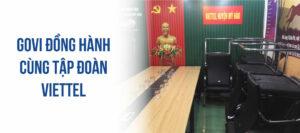 Govi cung cấp nội thất văn phòng cho tập đoàn viễn thông quân đội Viettel
