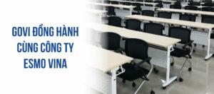 GOVI thi công dự án phòng training đẳng cấp cho Tập đoàn ESMO VINA