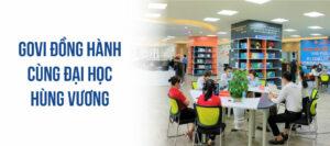 Dự án cung cấp nội thất cho trường đại học Hùng Vương tại Phú Thọ