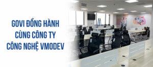 Govi hoàn thiện lắp đặt nội thất văn phòng 1000m2 tại công ty công nghệ VmodeV