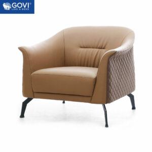 Sofa đơn da cao cấp SF192