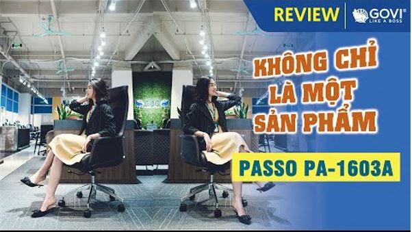 Ghế Lãnh Đạo Da Bò Italy Passo PA-1603A – Không Chỉ Là Một Sản Phẩm