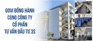 Govi cung cung cấp, lắp đặt nội thất văn phòng công ty cổ phần tư vấn đầu tư 3S