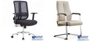 Nên chọn ghế chân xoay hay chân quỳ cho không gian phòng họp?