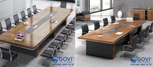 Chọn bàn họp cho phòng họp lớn và những lưu ý không thể bỏ qua