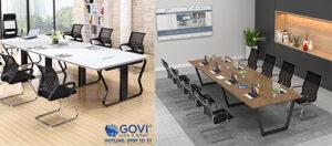Lựa chọn nào là hợp lý cho phòng họp diện tích nhỏ?