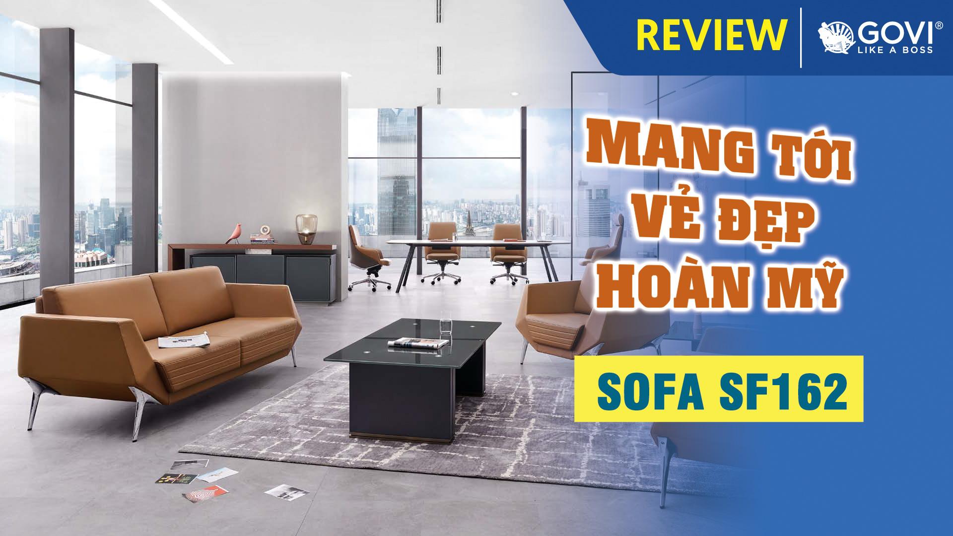 Sofa Da Cao Cấp SF162 – Mang Tới Vẻ Đẹp Hoàn Mỹ Cho Không Gian Văn Phòng